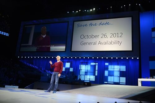 Windows 8 will be available on Oct 26, 2012