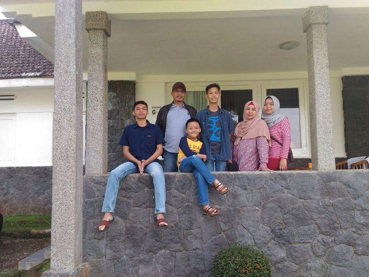 Mang Djoko's family.