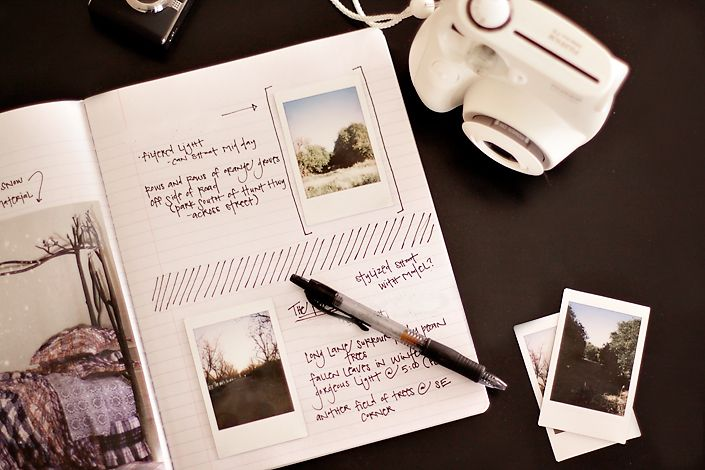 not a board but a book...love this idea. i use my iphone cam and take notes from there but nothing beats pen and paper.