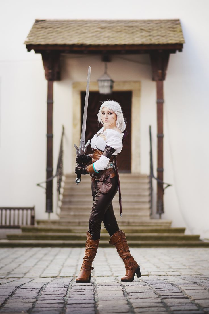 cosplayer - Juriet Cosplay character - Ciri from The Witcher 3 Wild Hunt photographer - Lukáš Blažek