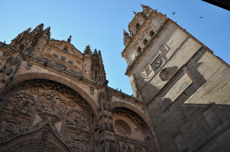 Fachada Catedral de Salamanca - Spain