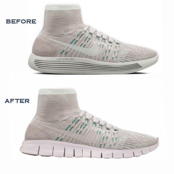 Nike sole swap