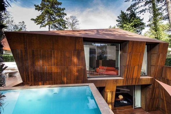 17 meilleures id es propos de terrasse sur lev e sur pinterest maison sur pilotis piscine. Black Bedroom Furniture Sets. Home Design Ideas