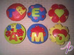 cupcakes te amo jc - Buscar con Google