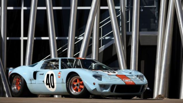 Ford Gt  Used To Film Le Mans Heads