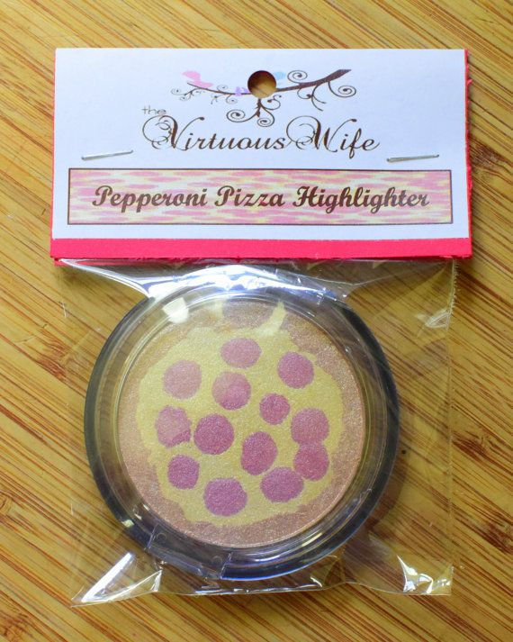 Pepperoni Pizza Highlighter by VirtuousWifeBoutique on Etsy - NEED!!