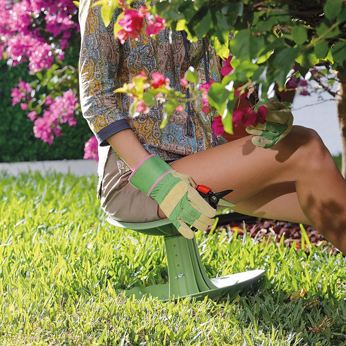 The World's Most Comfortable Garden Seat.