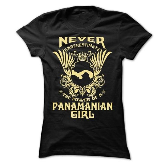 Never Underestimate the power of an Panamanian Girl - L - #fashion #womens hoodies. MORE ITEMS => https://www.sunfrog.com/LifeStyle/Never-Underestimate-the-power-of-an-Panamanian-Girl--Limited-Edition-Ladies.html?60505
