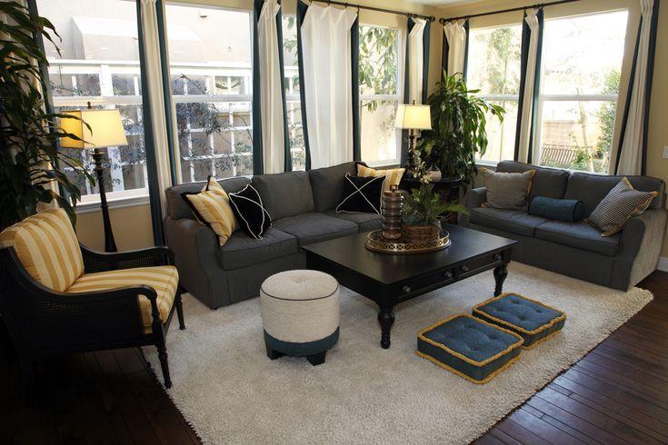 53 Cozy & Small Living Room Interior Designs | Trattamenti di finestra,  Soggiorni e Divano - 53 Cozy & Small Living Room Interior Designs Trattamenti Di