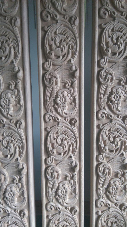 Wood carved moldings  #wood #carved #moldings #kwasnycarvings