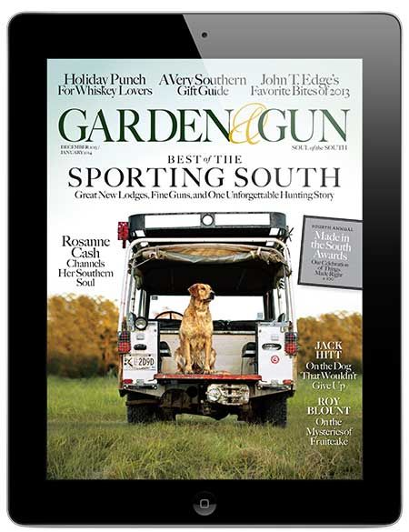 Congratulations to Garden & Gun Magazine on National Magazine Award nomination! Check it this awesome digital magazine covering trends in the South such as sports, food, music, art, and literature. This magazine was designed for tablets using the Mag+ platform.