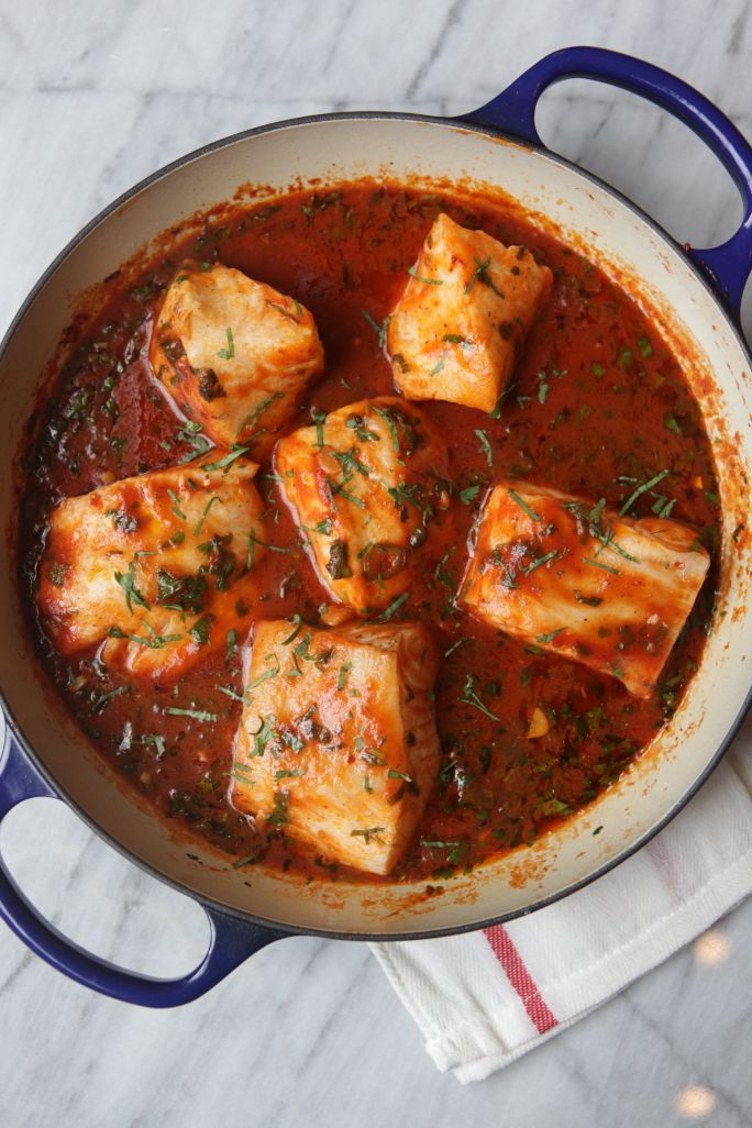 Tunisian Spicy Fish Stew