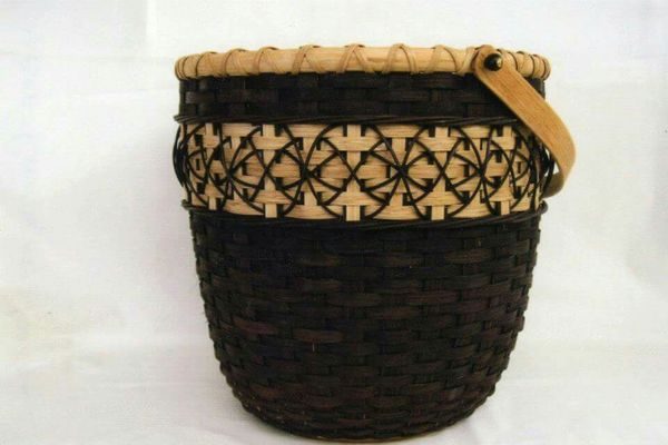 Handmade Peg Baskets : Best images about hand made basket weaving on