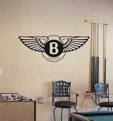 Bentley Logo Bentley Emblem Wall Art Sticker Decal 01