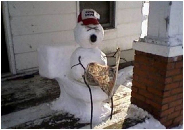 30 Creative and Funny Snowman Ideas