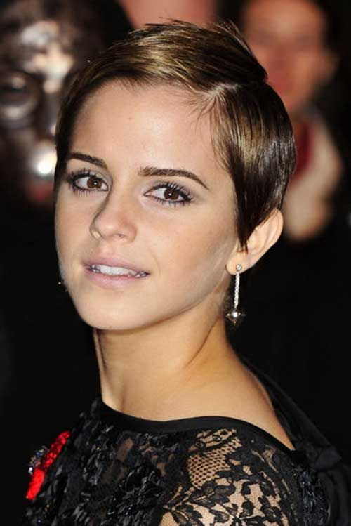 Remarkable, emma watson short hair charming