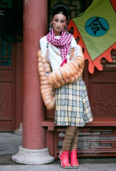 Gloomy Harajuku Photography : Dazed & Confused December