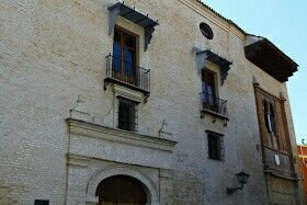 Fachada principaldel Palacio de los Marqueses de la Algaba