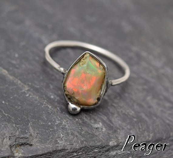 VIDEO Welo Ethiopian Opal ringSterling silver Womens