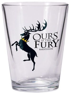 A Game of Thrones Baratheon Sigil Shot Glass