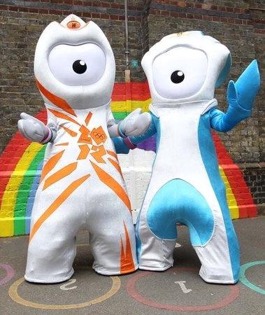 London Olympic Mascots 2012