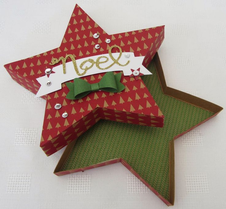 Stamping Moments: Star Box Tutorial and Many Merry Stars Simply Created Kit....