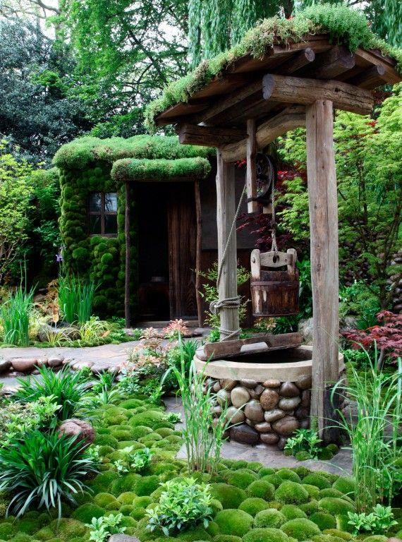 An Alcove (Tokonoma) Garden - Chelsea Flower Show 2013  My favourite artisan garden also won people's choice award
