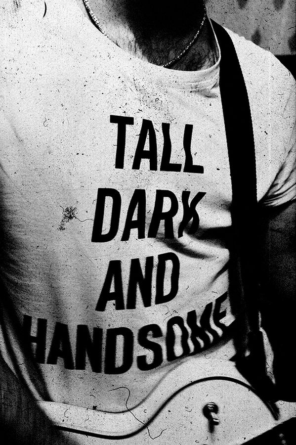 Dark and Handsome by Alex Novak, via 500px  I want to make a shirt like this for Mike. He'd never wear it out but just as a little confidence booster !!    -Bo