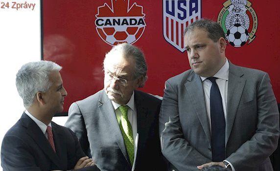 USA, Mexiko a Kanada chtějí společné fotbalové mistrovství světa 2026