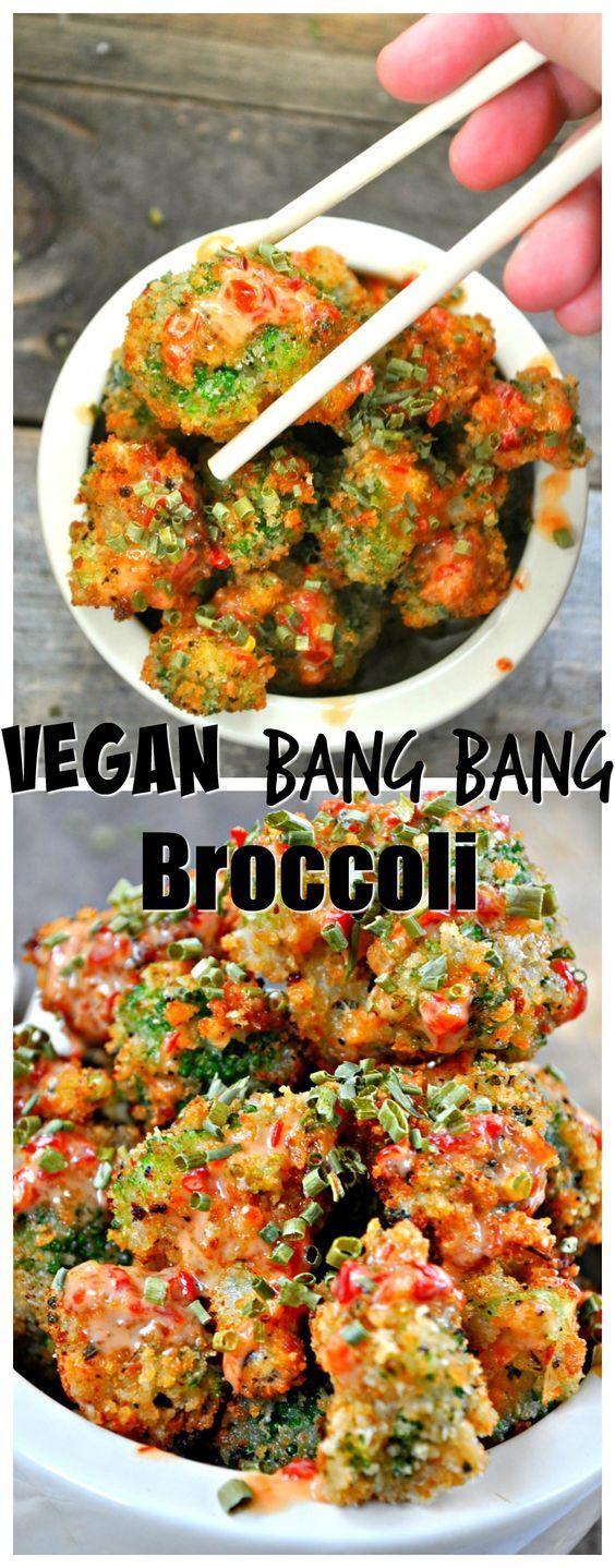 Vegan Bang Bang Broccoli