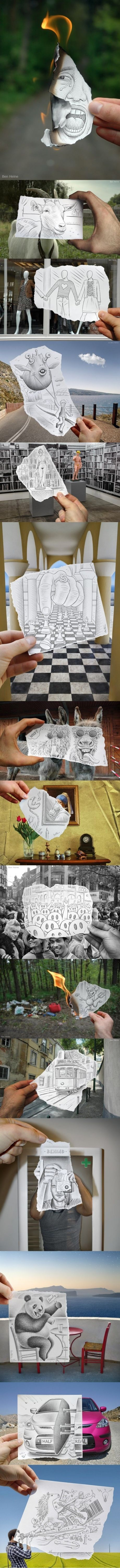 awesome drawings, perception