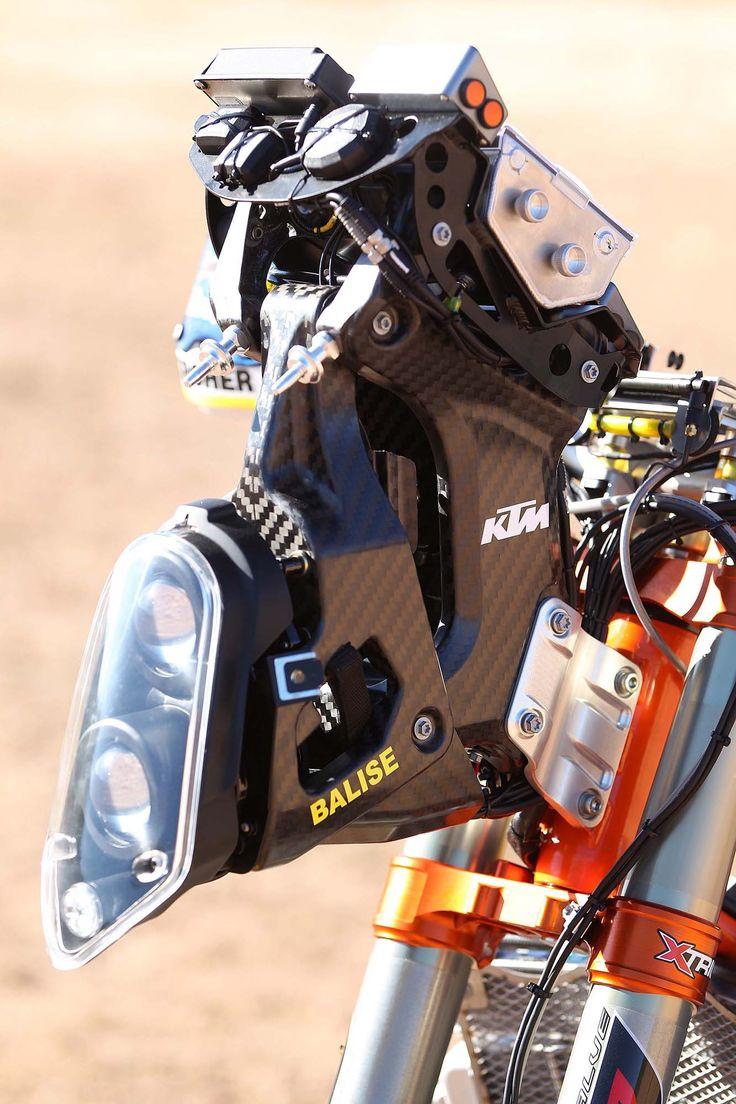 XXX: 13 Photos of the 2014 KTM 450 Rally Buck Naked