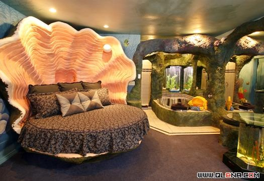 Under the Sea themed room for @H A L E Y |  V A N  |  L I E W Kane