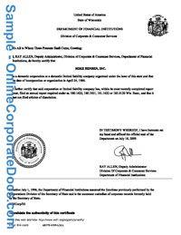 Wisconsin Certificate Of Good Standing Corporate Birth