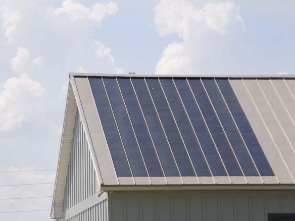 Building Integrated Solar Metal Roofing Solar Roof Metal Roof Best Solar Panels