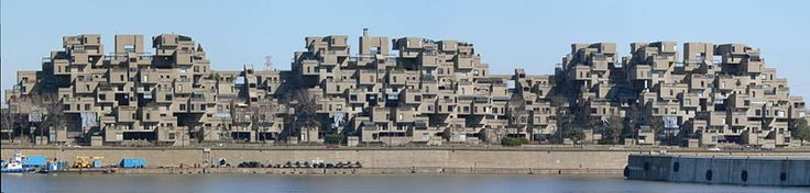 Standing wave at Habitat '67, Montreal | Atlas Obscura