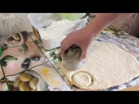 (203) Сметанные пышки на сковороде - YouTube