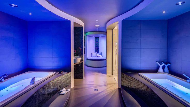 Project wellness experience centre door architectenbureau Kabaz | wellness design | welness spa
