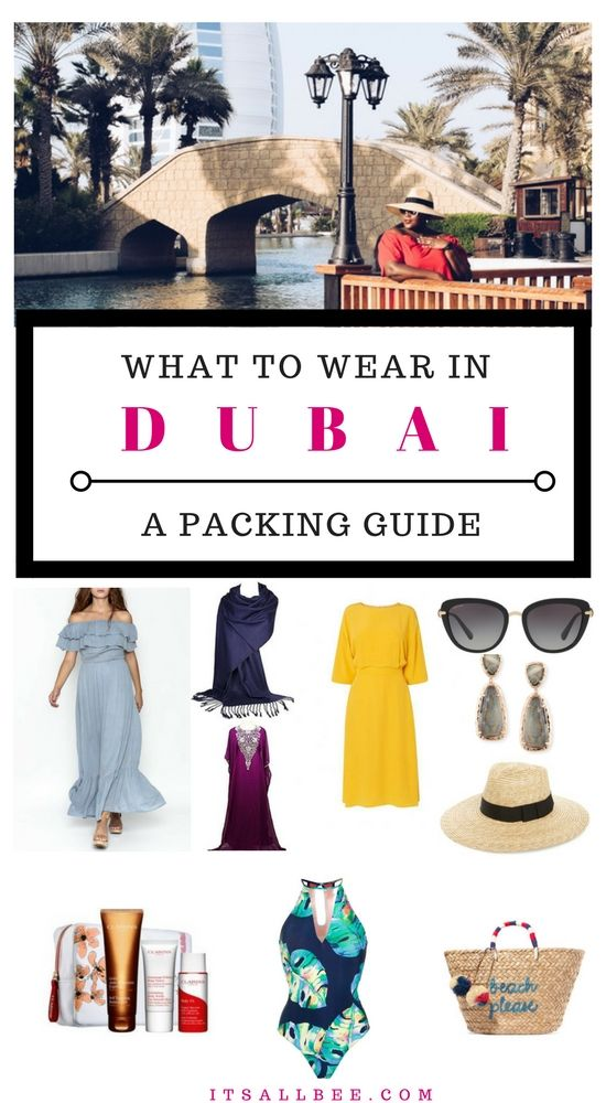 What to Wear in Dubai as a Woman, find out the right dress code in Dubai! - Dubai Fashion - https://www.itsallbee.com/2018/01/packing-list-tips-female-traveller-what-to-wear-in-dubai/