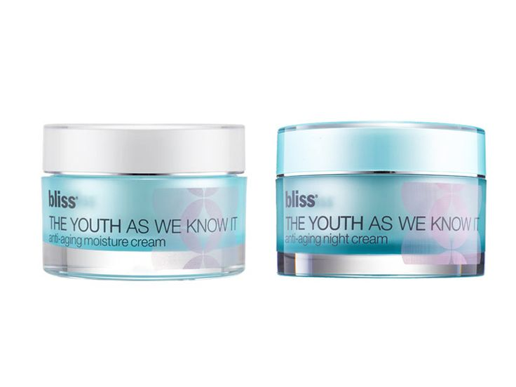 Bliss The Youth as We Know It Moisture Cream and Antiaging Night Cream | Inside Allison Hatfield's Makeup Bag | Everywhere
