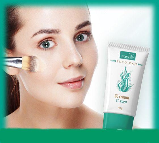 Οι ατέλειες του δέρματος καταστρέφουν τη διάθεσή σας ? Και η εικόνα της επιδερμίδα , σας δημιουργεί δυσφορία ? Ξεχάστε την ανάγκη για πολυεπίπεδη κάλυψη του δέρματος σας ! Η νέα κρέμα CC  της TianDe Fucoidan σας δίνει όλα όσα χρειάζεται το δέρμα σας για να φαίνεται τέλειο!