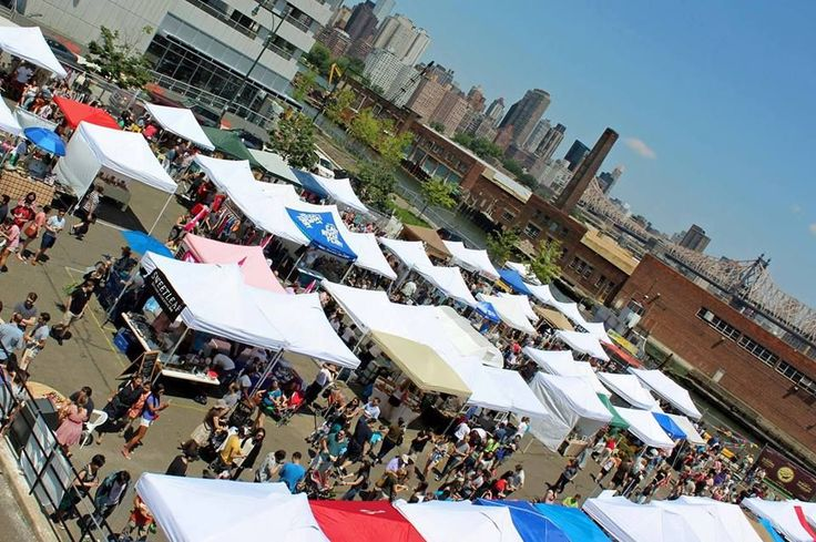 Long Island City's outdoor flea market, LIC Flea & Food, opens its outdoor headquarters again on April 11th at the corner of 5th St. and 46th Ave. Home to plenty of vintage clothing and furniture sellers, unique food booths like the General Tso Boy and many themed weekends, LIC Flea & Food is also a great spot to take in gorgeous cityscape views. There are lots of eats, from the Bao Shop to Chuta Madre! and this year there will also be beer from only Queens breweries.