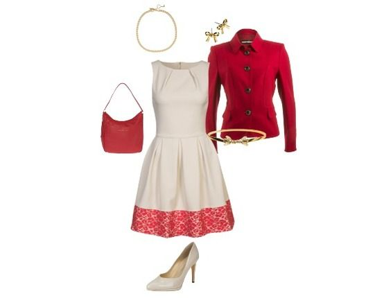 Coctail dress gone red - Avond Outfit - stylefruits.nl
