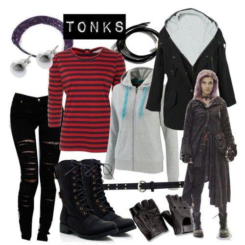 Tonks Harry Potter Fashion