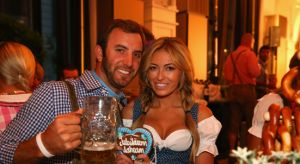 Paulina Gretzky and Dustin Johnson Seemed To Have Had a Good Time In Germany