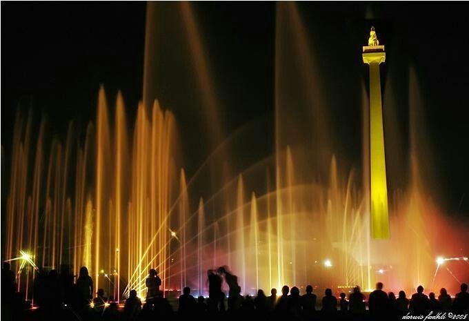 Fountain at jakarta
