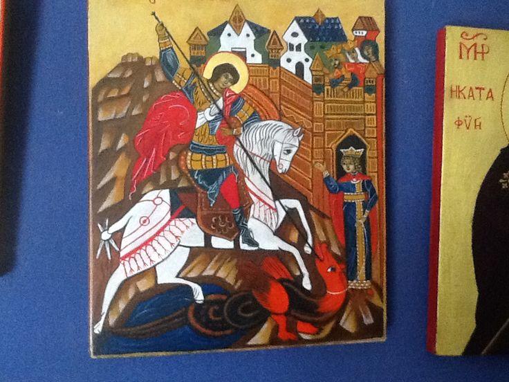 St. Joris met de draak