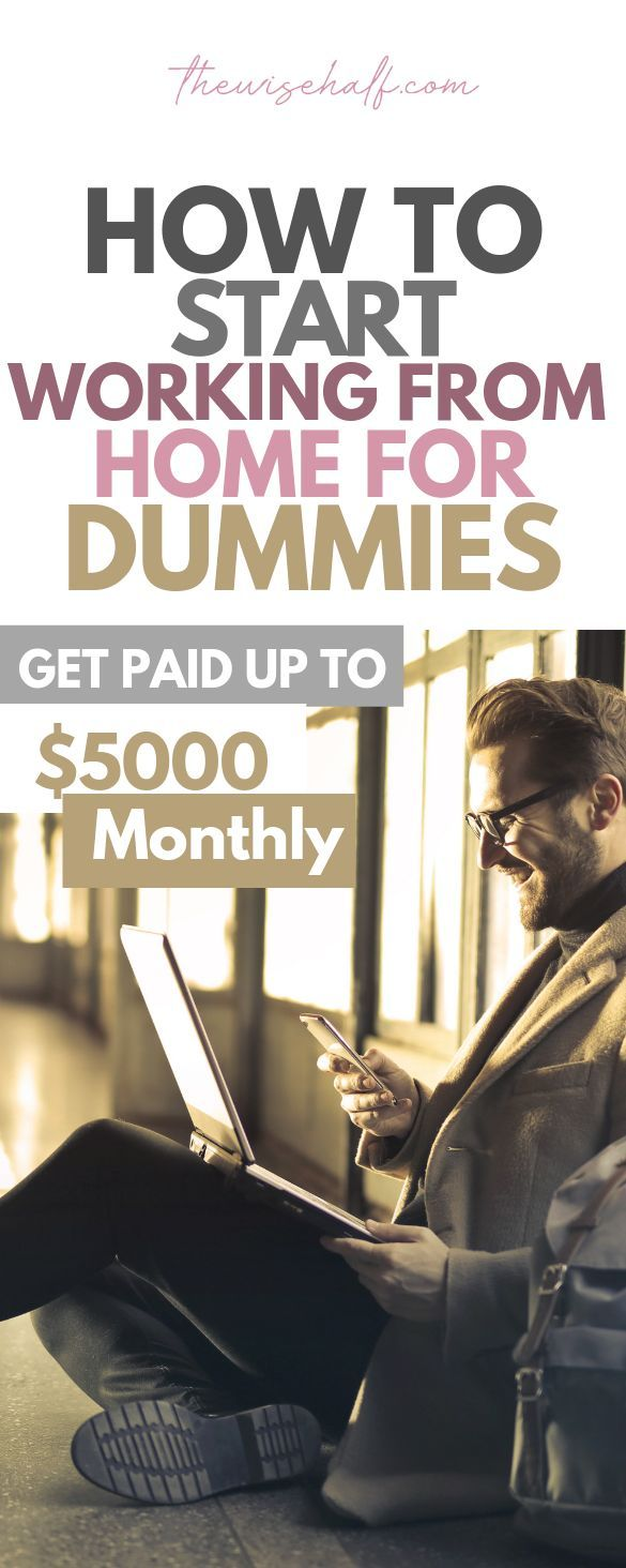 How to start working from home and make money now….