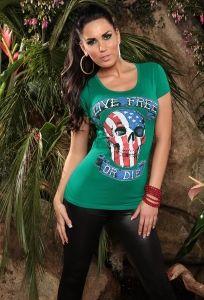 t-shirt LIVE FREE OR DIE