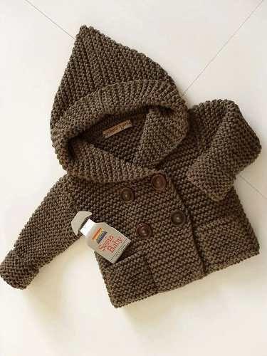 tapadito pocket |lana| baby boutique -cocuk ceketi tejidos bebe niños